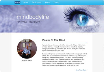 mindbodylifehypnotherapy Website
